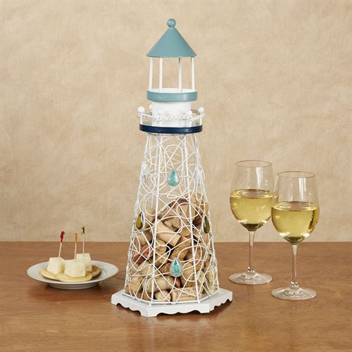 Lighthouse Wine Cork Caddy Multi Cool