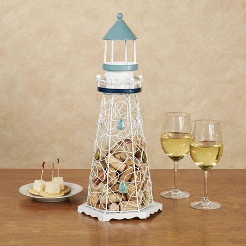 Lighthouse Wine Cork Caddy Multi Cool