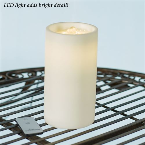 Luna LED Flameless Candle Fountain Ivory