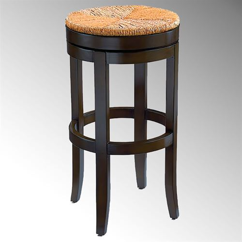 Oriana Swivel Bar Stool Black
