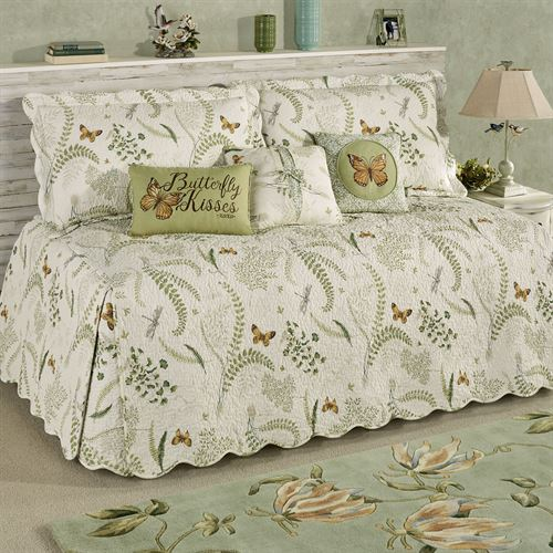 Butterfly Eden Daybed Set Eggshell Daybed