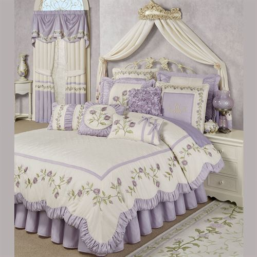 Lavender Rose Comforter Set