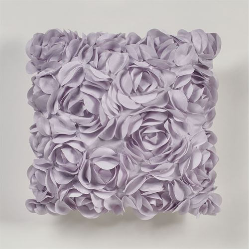 Lavender Rose Tailored Pillow 16 Square