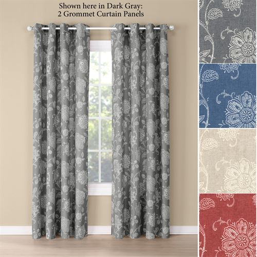 Farrah Grommet Curtain Panel