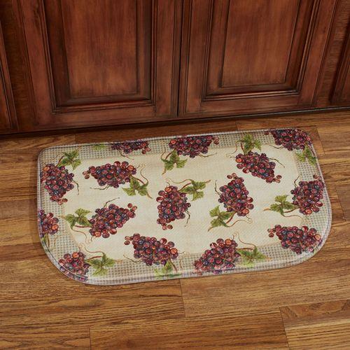 Catawba Grapes Cushioned Slice Mat Multi Warm 30 x 18