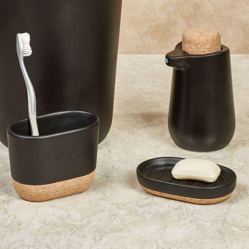 Conley Lotion Soap Dispenser Black