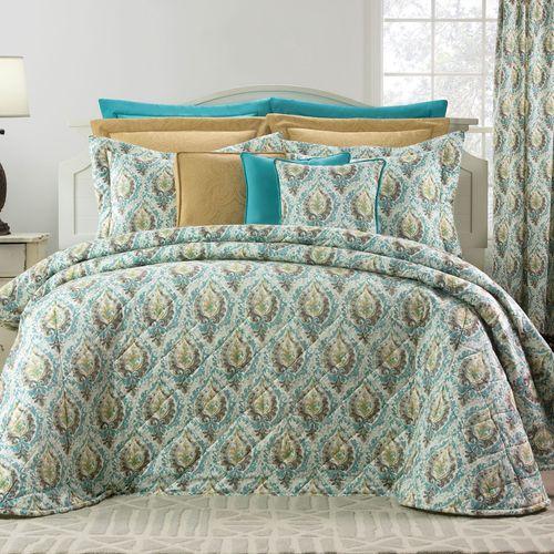 Madison Avenue Bedspread Aqua