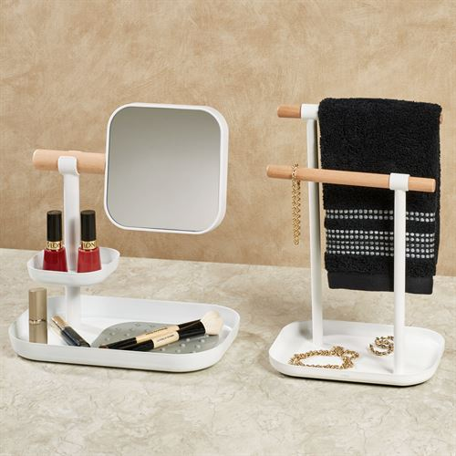 Erickson Vanity Organizers White Set of Two