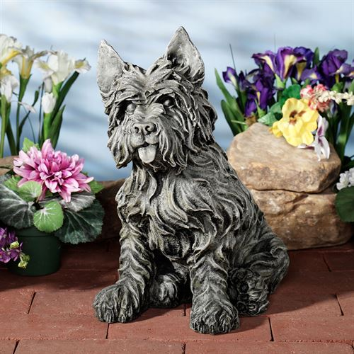 Oliver Cairn Terrier Sculpture