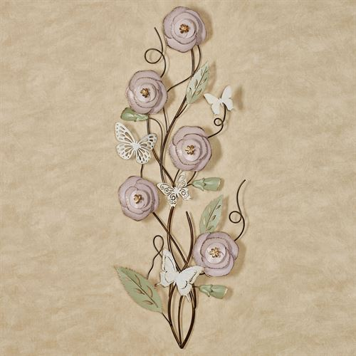 Wistful Bouquet Floral Wall Art Light Pink