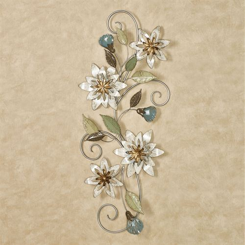 Serene Blooms Floral Wall Art Multi Cool