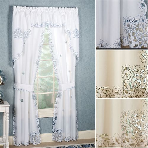 Litchfield Tailored Curtain Pair