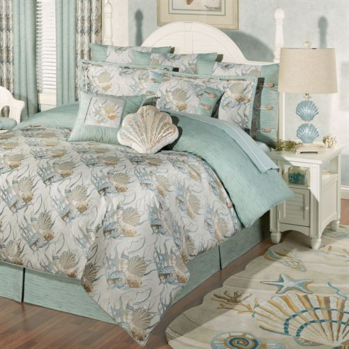 large shells collections beach comforter sets house perfect for seaside duvet and bedding set seashell