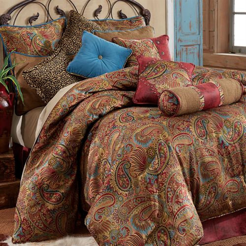 San Angelo Comforter Set Multi Warm