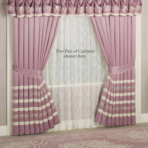 Allegro Tailored Curtain Pair