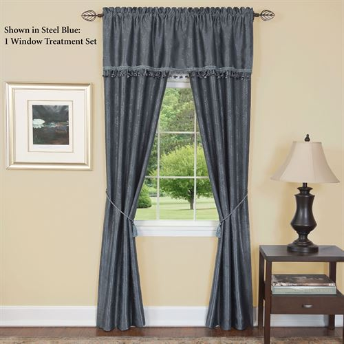 Augustine Curtain with Valance Set