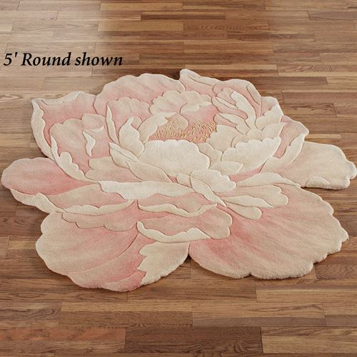 Juliette Round Flower Rug