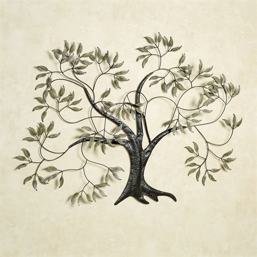 Willow in the Wind Wall Art Brown