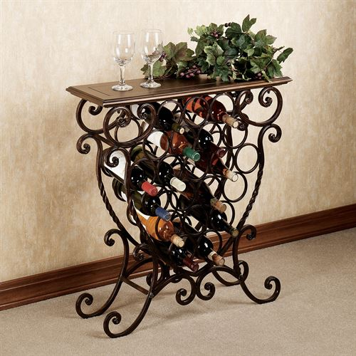 Benedetto Wine Rack Table