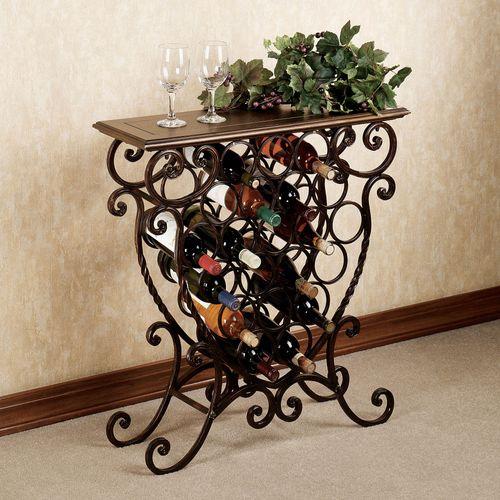 Benedetto Wine Rack Table