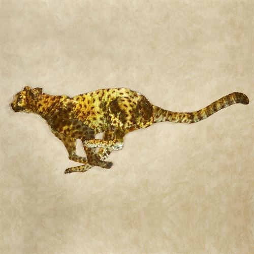 Silent Stalker Cheetah Sculpture