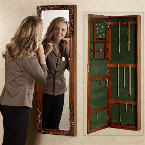 Victoriana Jewelry Mirror