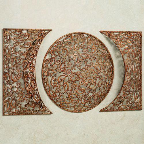Celanova Wall Sculpture Copper