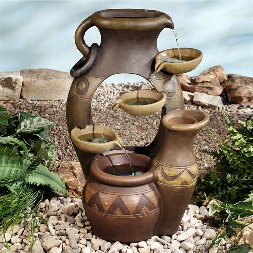 Antonito Water Fountain Brown