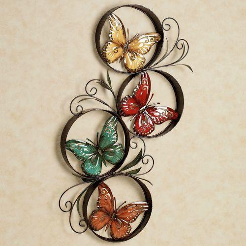 Butterfly Jubilee Wall Accent Multi Jewel