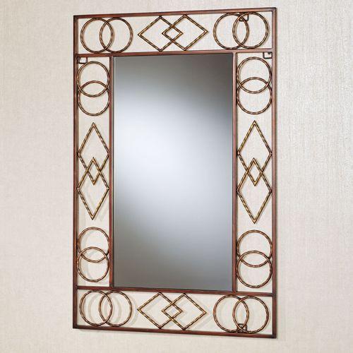 Tribal Essence Wall Mirror Dark Bronze