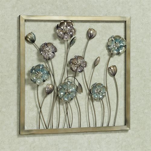 Floral Salute Wall Art Multi Cool