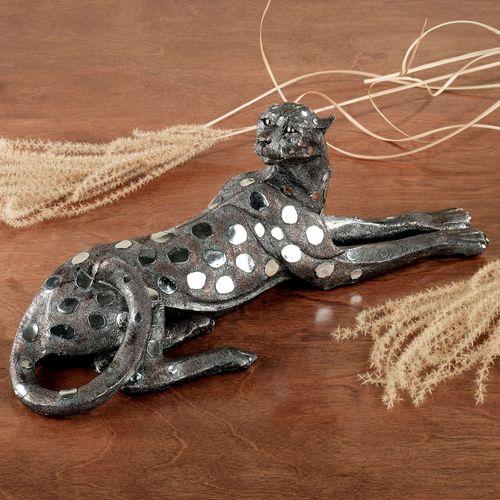 Sahara Sun Table Sculpture Metallic Silver