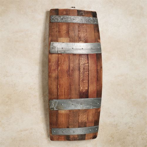 Bello Wine Barrel Wall Panel Brown