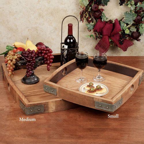 Vino Serving Tray Walnut