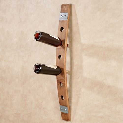 Temecula Wall Wine Rack Dark Oak Single