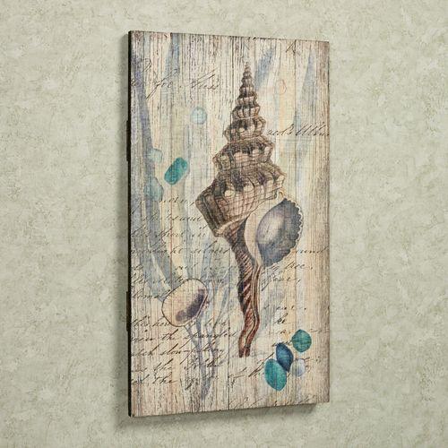 Shell Vintage Wall Art Natural