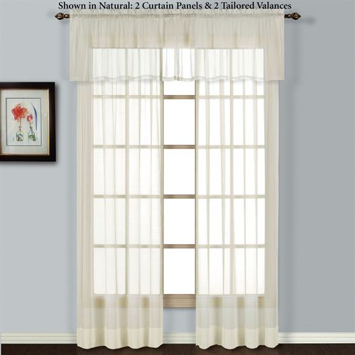 Batiste Tailored Curtain Panel