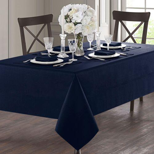 Corra Oblong Tablecloth Indigo