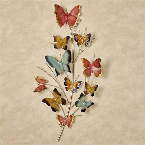 Butterfly Oasis Wall Art Multi Pastel