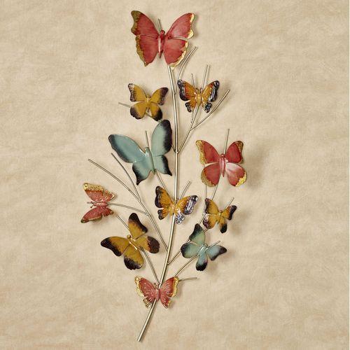 Butterfly Oasis Wall Art Multi Pastel