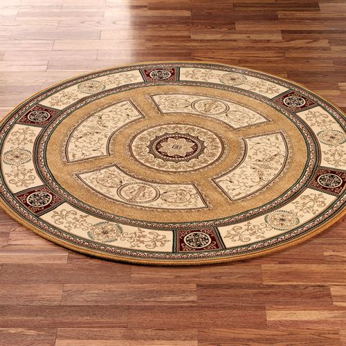 Regency Medallion Round Rug