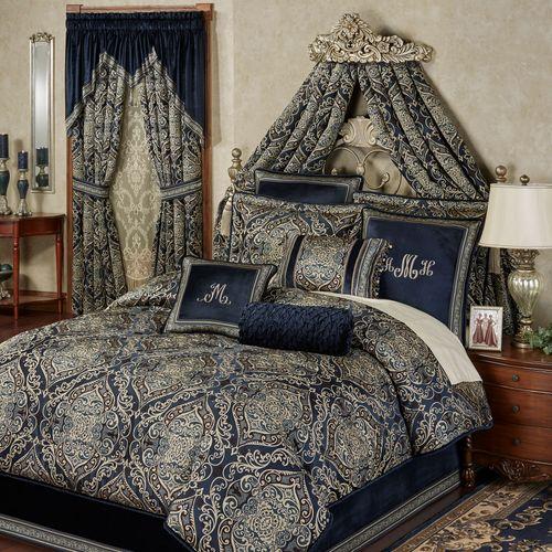 Virtuoso Comforter Set Midnight