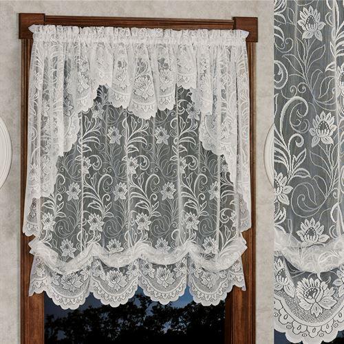 Art Nouveau Lace Balloon Shade 56 x 63
