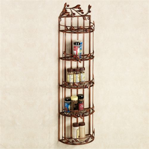 Cantabria Branch Kitchen Organizer Brown