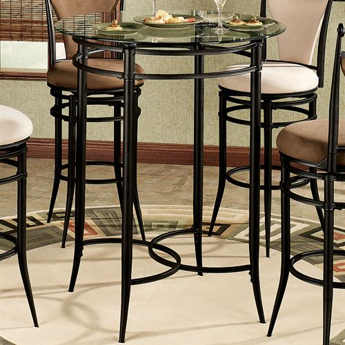 Camira Cafe Bar Table OnlyBlack
