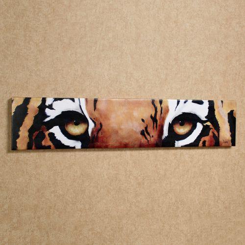 Tiger Eyes Canvas Art
