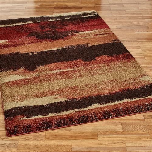 Canyon Ridge Rectangle Rug Multi Warm
