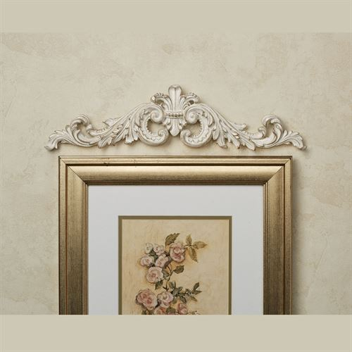 Sidoria Scroll Picture Topper Ivory/Gold