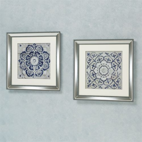 Medallion Wall Art Simple Medallion Framed Wall Art Set Decorating Design