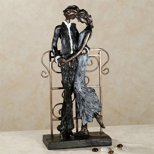 Lingering Passion Table Sculpture Black